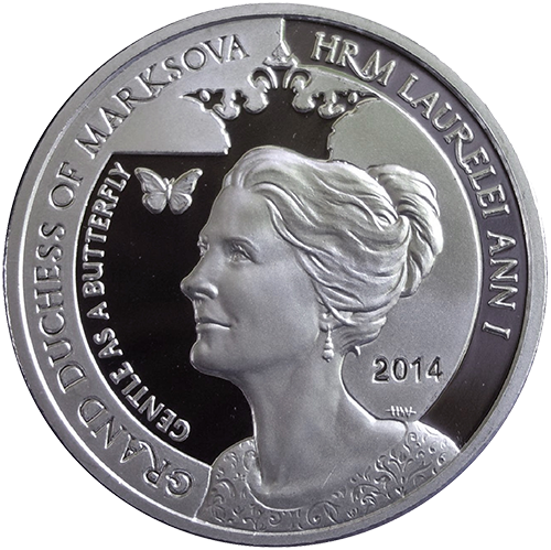 Duchess of Marksova - 1oz Silver 1.5'' - Original Design
