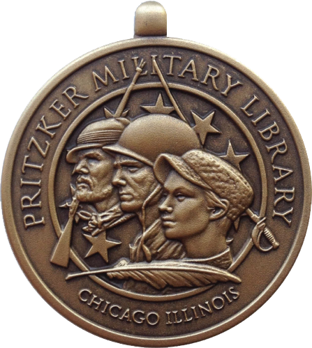 Pritzker Military Library Medal - High Relief Bronze 1''